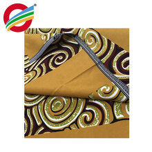 Tear-Resistant wax printed fabric african kente for sale