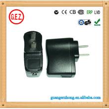 Convertidor de potencia del cargador USB de 100-240V AC 5V DC