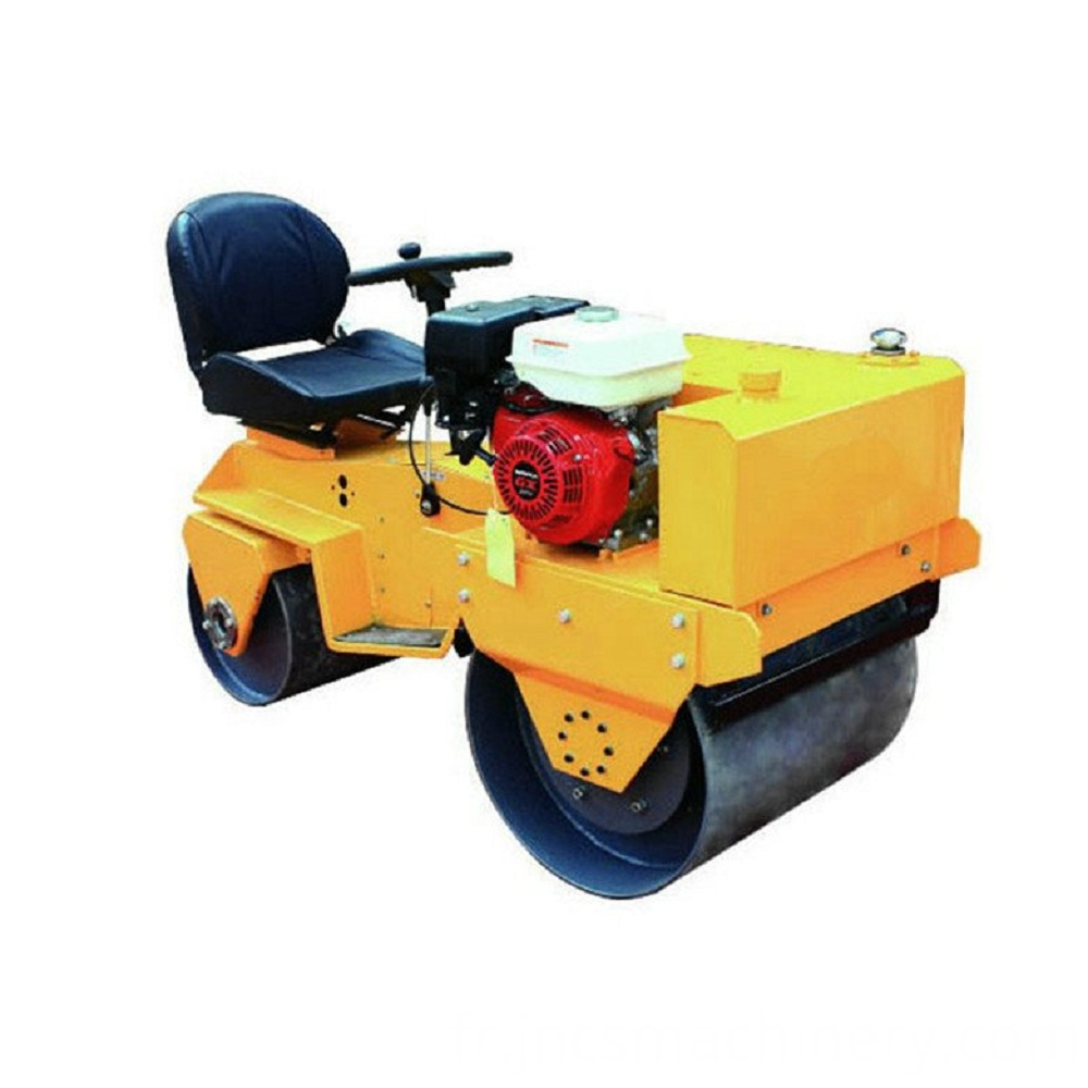 driving 750kg compactor road roller