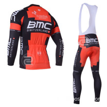 Heat Transfer Custom Cycle Wear Winter Cycling Clothing Long Sleeve (bib) Pants BMC-Cl-10