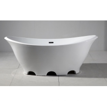 Beautiful Ship Shape Acrylic Freestanding Bathtub
