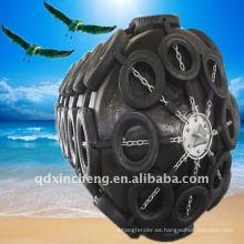 Estilo amortiguado del amortiguador de mar del guardabarros de goma neumático