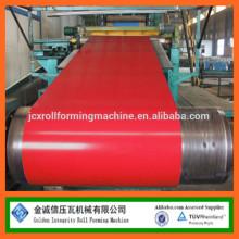 Fabricante de bobinas de aço pré-pintadas