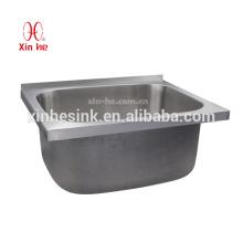 Lavabo del lavadero del cuarto de baño del SUS 304 del acero inoxidable con el gabinete