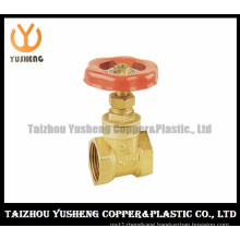 Female Brass Gate Valve with Aluminum Handle (YS6001)