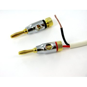 4,0 mm Audio bananplugg pärla nickel skal