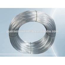 Anping Caliente de inmersión y electro galvanizado de alambre de alambre de hierro galvanizado