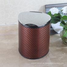 PU europeo estilo Sensor Garbage Bin para el hotel (E-9LD)