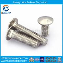 DIN603 em estoque A2-70 parafuso de carro de aço inoxidável, ANSI B18.6.3
