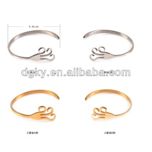 New Arrivals Touch of the Light Couples Stainless Steel Bracelet