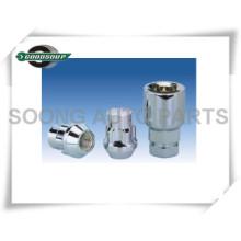 Titanium Special Wheel Lock Schlüssel und Hülsen Wheel Nets Locks