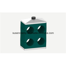Doble / doble tubo / abrazadera de tubo de alta calidad