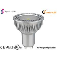 Bulbo elegante 5W de 2835 GU10 LED con el CE RoHS de la UL