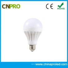 Хорошая цена пластмассы 9W Е27 smd5730 светодиодные лампы свет