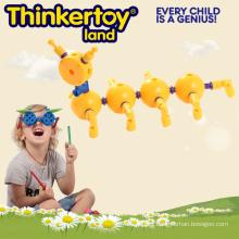 Juguete de plástico de juguete educativo infantil para el aprendizaje de insectos