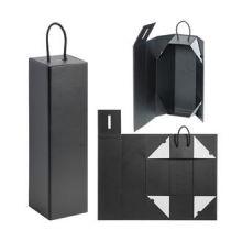 Embalagem de caixa de vinho de papel dobrável de luxo