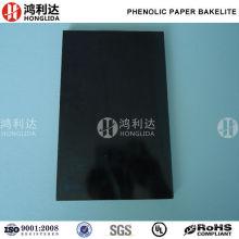 Tablero laminado de papel fenólico de baquelita ESD