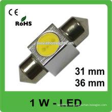 Bombillas de luz de techo de 31mm 36mm led 12V