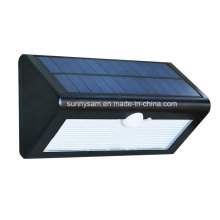 36LED Solar Powered Triangle Sensor LED exterior montado en la pared luz