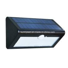 Lumière fixée au mur extérieure actionnée solaire de sonde du triangle LED 36LED