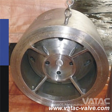 A351 CF8m&Ss316 Wafer&Flanged Nozzle Check Valve