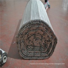 Stainless steel wire mesh balanced screw conveyor mesh belt