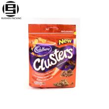 Высокое качество замка застежка-молнии пластичные напечатанные мешки застежки-молнии для упаковки еды resealable мешок/мешок застежки-молнии