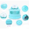 Silla suave de la PU del bebé del nuevo diseño, silla de cena del bebé