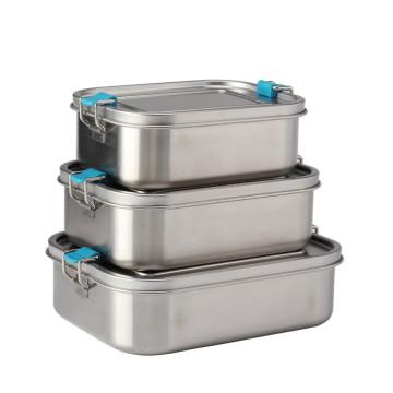Коробка для завтрака Bento Box из нержавеющей стали для взрослых