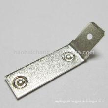 сталь посеребренная 45 градусов двойной точечной сварки терминал, используемый для стиральной машины электрический подогреватель / отопительный прибор