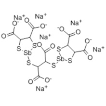 2,2'-[(1,2-dicarboxyethylene)bis(thio)]bis[1,3,2-dithiastibolane-4,5-dicarboxylic] acid CAS 1986-66-9
