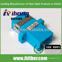SC / UPC Atenuador de tipo fijo óptico tipo Bulkhead tipo 10db