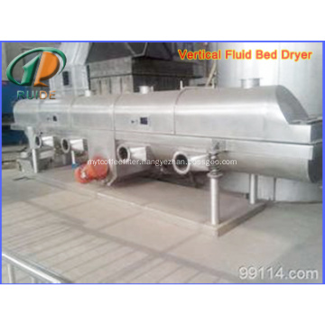 Acesulfame solid series fluidized bed drying and cooling system