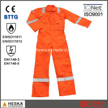 Men′s Safety Wear Fire Retardant Coverall