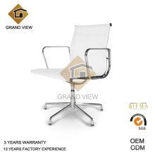 Silla de malla blanca con brazos (GV-EA108 mesh)