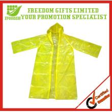 Venda quente marca personalizada Impresso capa de chuva descartável