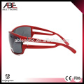 Alta calidad nuevo diseño Gafas de sol de plástico de deporte