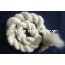combed cashmere tops white 15.5mic 44mm with SGS report