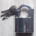 Top security chrome plated shackle protected lock