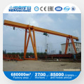 Kuangyuan Brand Light Duty Single Girder Gantry Crane with Electric Hoist in Outside Warehouse