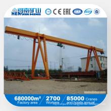 Козловой кран Kuangyuan с малой грузоподъемностью для однобалочного мостового крана с электрическим подъемником на внешнем складе