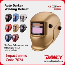Custom Electronic safety helmet Welding Mask with low price code.7074
