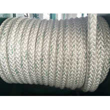 12- Strand Manila Rope Polymer Marine Cable Mooring Rope