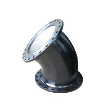 ISO2531 EN545 Padrão de cotovelo flangeado de 90 graus