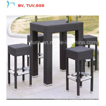 Garden Bar Table with 5cm Clear Glass (CF976T)