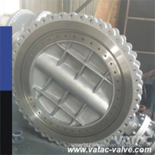 Triple-Offset CF8/F304/Ss304 Fully Lug EPDM Seat Butterfly Valve Gear