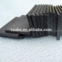 palette de graphite de carbone
