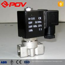 válvula solenoide de acción directa de conexión de rosca de bajo precio