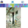 Панели прокатанного стекла, здания витражное стекло для полок