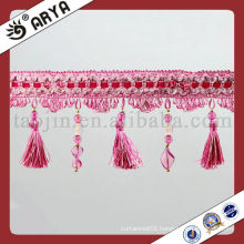 Reasonable Price Beads and Tassel Fringe for Curtain
